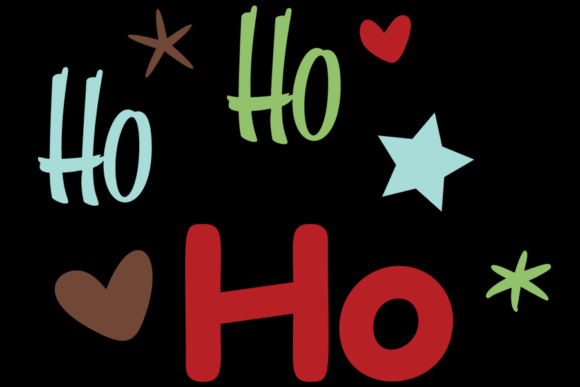 Download Free Ho Ho Ho Christmas Santa Svg Graphic By Am Digital Designs for Cricut Explore, Silhouette and other cutting machines.