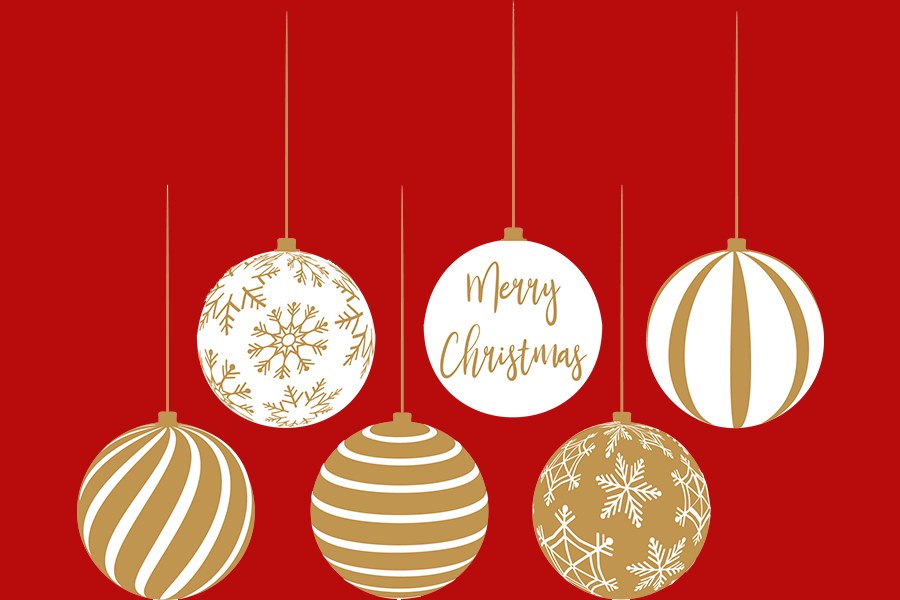 Download Free Gold And White Christmas Bulbs Graphic By Am Digital Designs SVG Cut Files