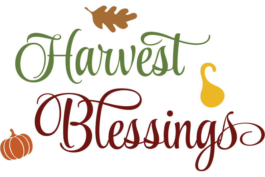Download Free Harvest Blessings Graphic By Am Digital Designs Creative Fabrica for Cricut Explore, Silhouette and other cutting machines.