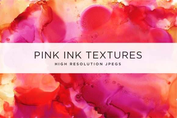 Pink Ink Textures Graphic Textures By Cassandra Cappello
