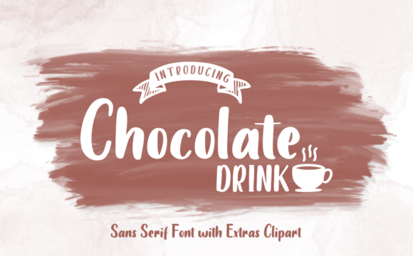 Print on Demand: Chocolate Drink Sans Serif Font By kammaqsum