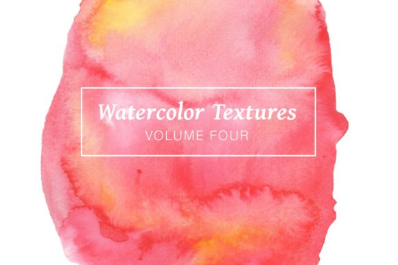 Red & Pink Watercolors - Volume 4 Graphic Textures By Cassandra Cappello