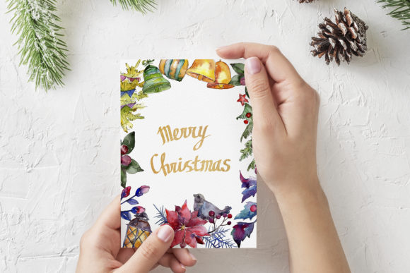 Print on Demand: Set of Illustrations Christmas Miracle Graphic Illustrations By MyStocks - Image 5