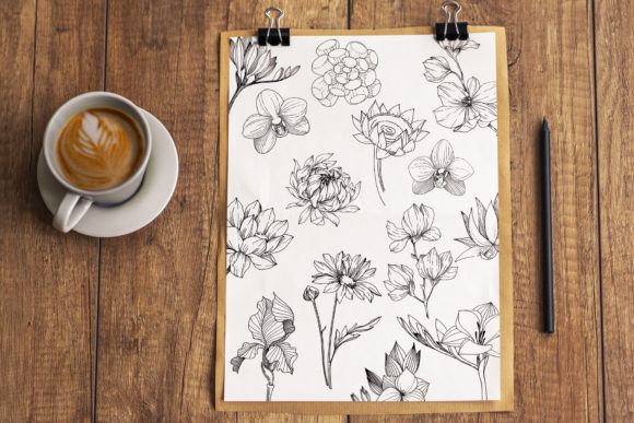 Print on Demand: Vector Illustration of Freesia Flower Graphic Illustrations By MyStocks - Image 5