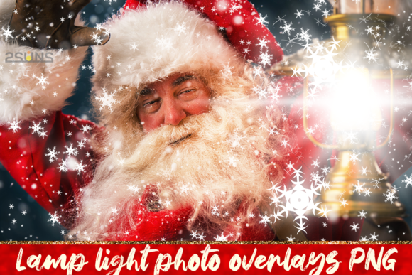 30 Christmas Photo Overlays Lamp Lights Graphic Layer Styles By 2SUNS