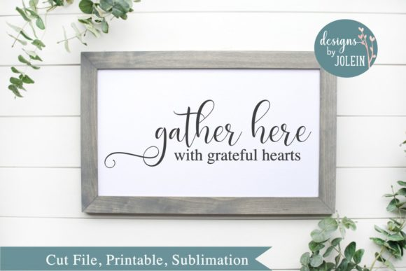 Print on Demand: Gather Here Graphic Crafts By Designs by Jolein