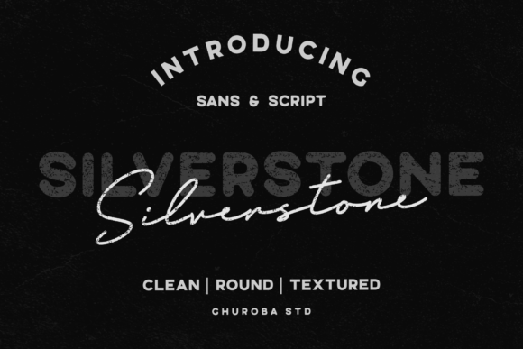 Print on Demand: Silverstone Decorative Font By Ghuroba Studio