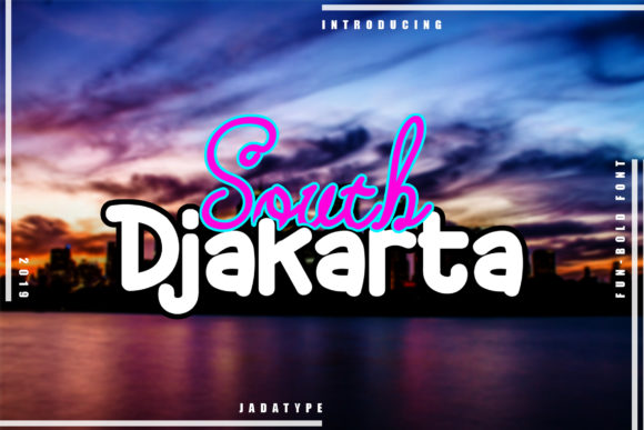 Print on Demand: South Djakarta Display Font By jadatype