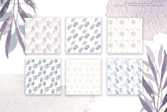 Winter Violet Collection Graphic Illustrations By BilberryCreate - Image 13
