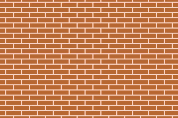 Print on Demand: Brick Wall Background Graphic Backgrounds By sabavector