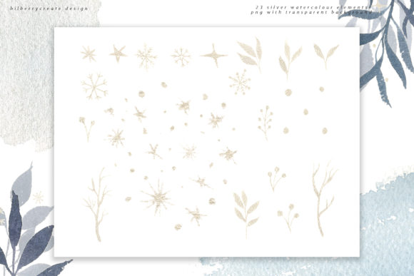 Winter Violet Collection Graphic Illustrations By BilberryCreate - Image 16