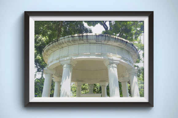 Old Architectural Building in the Forest Graphic Nature By Kerupukart Production - Image 1