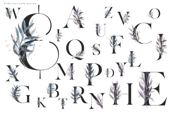 Winter Violet Collection Graphic Illustrations By BilberryCreate - Image 5
