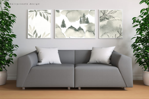 Coniferous Forest Art Collection Graphic Illustrations By BilberryCreate - Image 5