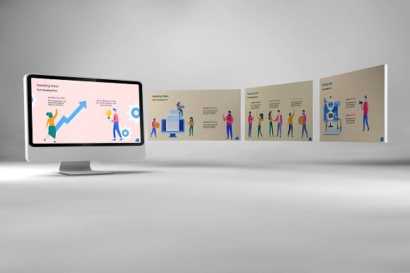 Corporate Life Keynote Template Graphic Presentation Templates By renure - Image 8