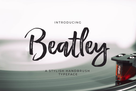 Print on Demand: Beatley Script & Handwritten Font By Debut Studio