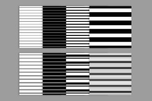 Print on Demand: Black & White Seamless Striped Patterns Graphic Patterns By Running With Foxes 2