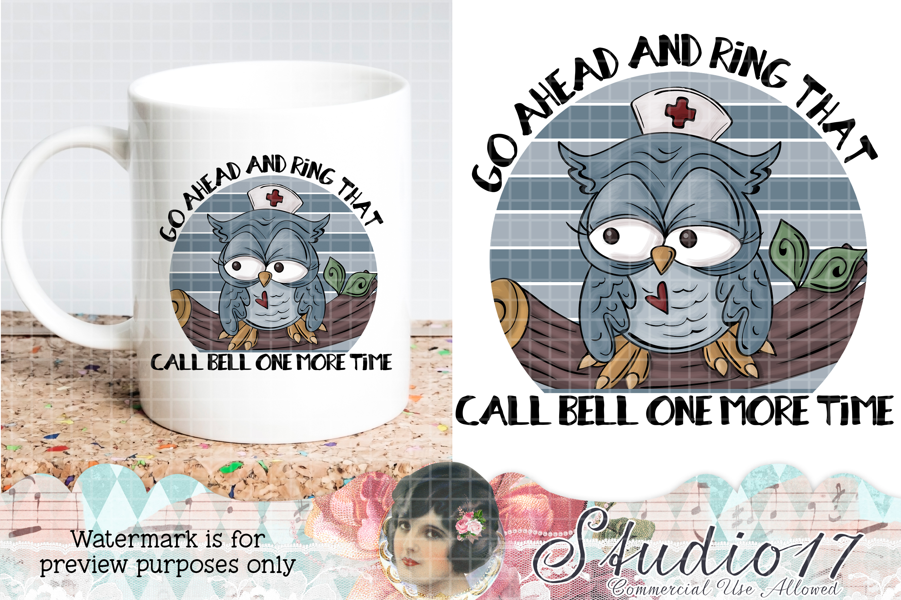 Download Free Nurse Life Sublimation Design Graphic By Studio 17 Designs for Cricut Explore, Silhouette and other cutting machines.