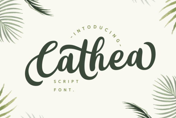 Print on Demand: Cathea Script & Handwritten Font By Dani (7NTypes)