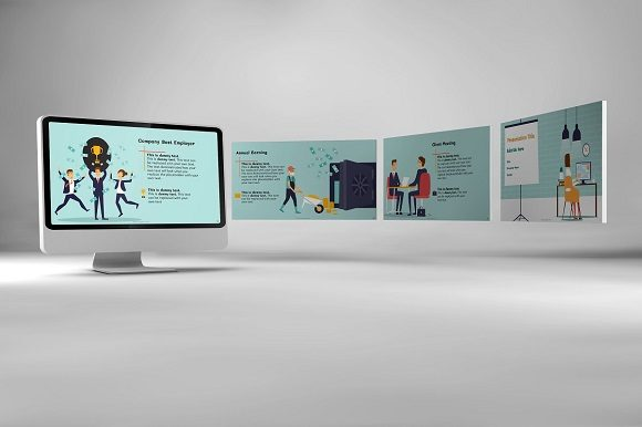 Corporate Functions Keynote Template Graphic Presentation Templates By renure - Image 2