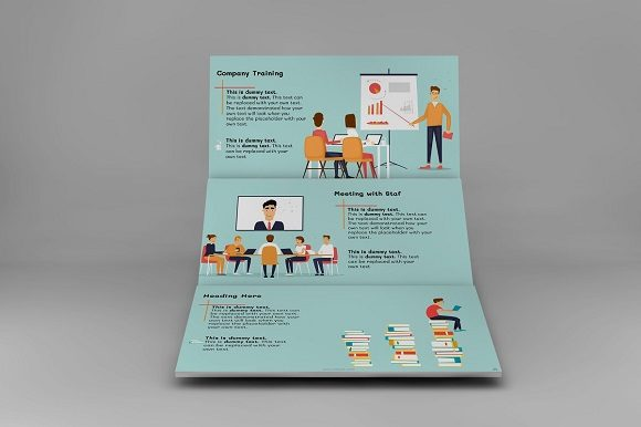 Corporate Functions Keynote Template Graphic Presentation Templates By renure - Image 3