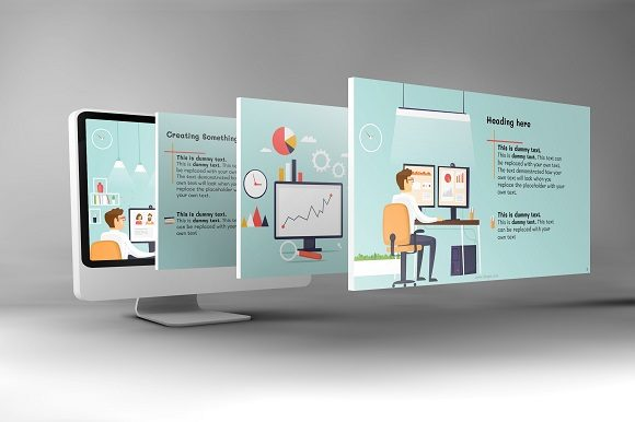 Corporate Functions Keynote Template Graphic Presentation Templates By renure - Image 4