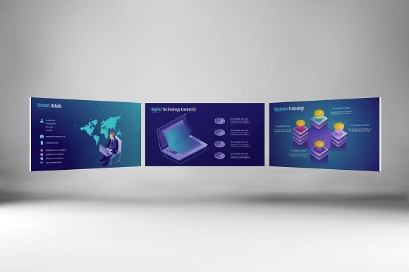 Smart Tech Keynote Template (Small Pack) Graphic Presentation Templates By renure - Image 2