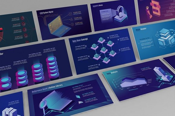 Smart Tech Keynote Template (Small Pack) Graphic Presentation Templates By renure - Image 3