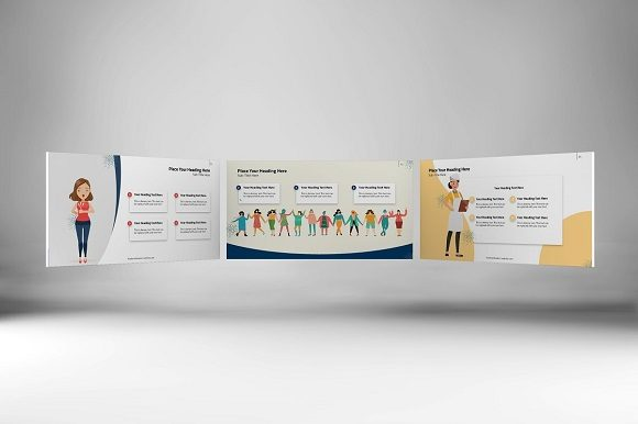 Women Empowerment Keynote Template Graphic Presentation Templates By renure - Image 6