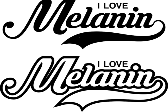 Download Free I Love Melanin Graphic By That Paradise Boutique Creative Fabrica for Cricut Explore, Silhouette and other cutting machines.