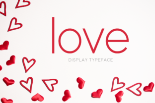 Print on Demand: Love Display Font By Instagram Fonts