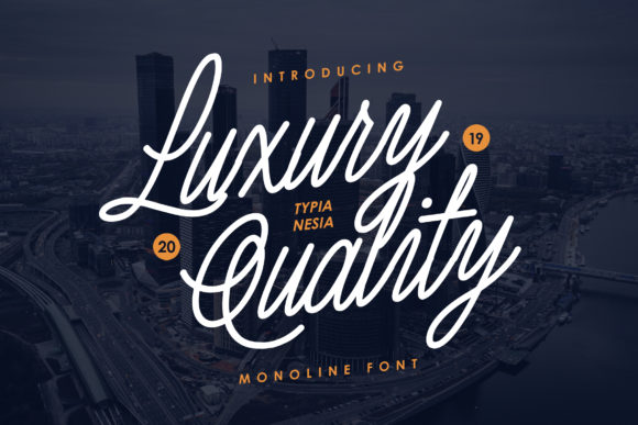 Print on Demand: Luxury Quality Script & Handwritten Font By Typia Nesia