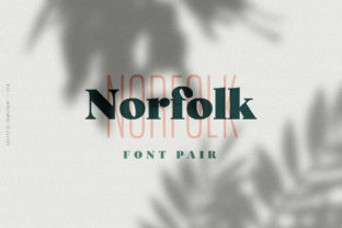 Print on Demand: Norfolk Duo Display Font By Adam Fathony
