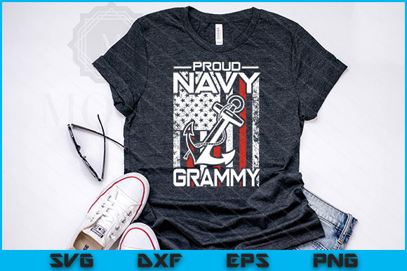 Download Free 15 Proud Navy Svg Design Bundle Graphic By Artistcreativedesign SVG Cut Files