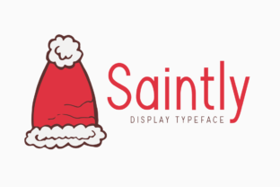 Print on Demand: Saintly Display Font By Instagram Fonts