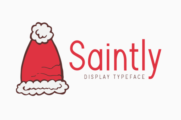 Print on Demand: Saintly Display Font By FontEden