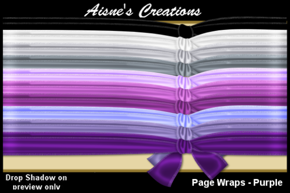 Print on Demand: Page Wraps - Purple Graphic Objects By Aisne