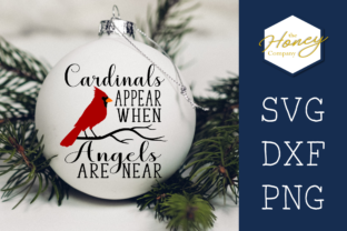Cardinals Appear when Angels Are Near Graphic Crafts By The Honey Company
