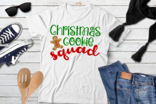 Download Free Christmas Cookie Squad Graphic By Printsofpop Creative Fabrica for Cricut Explore, Silhouette and other cutting machines.
