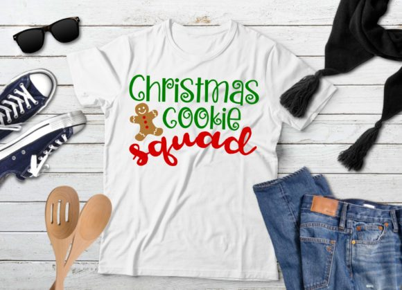 Print on Demand: Christmas Cookie Squad Graphic Crafts By PrintsOfPop