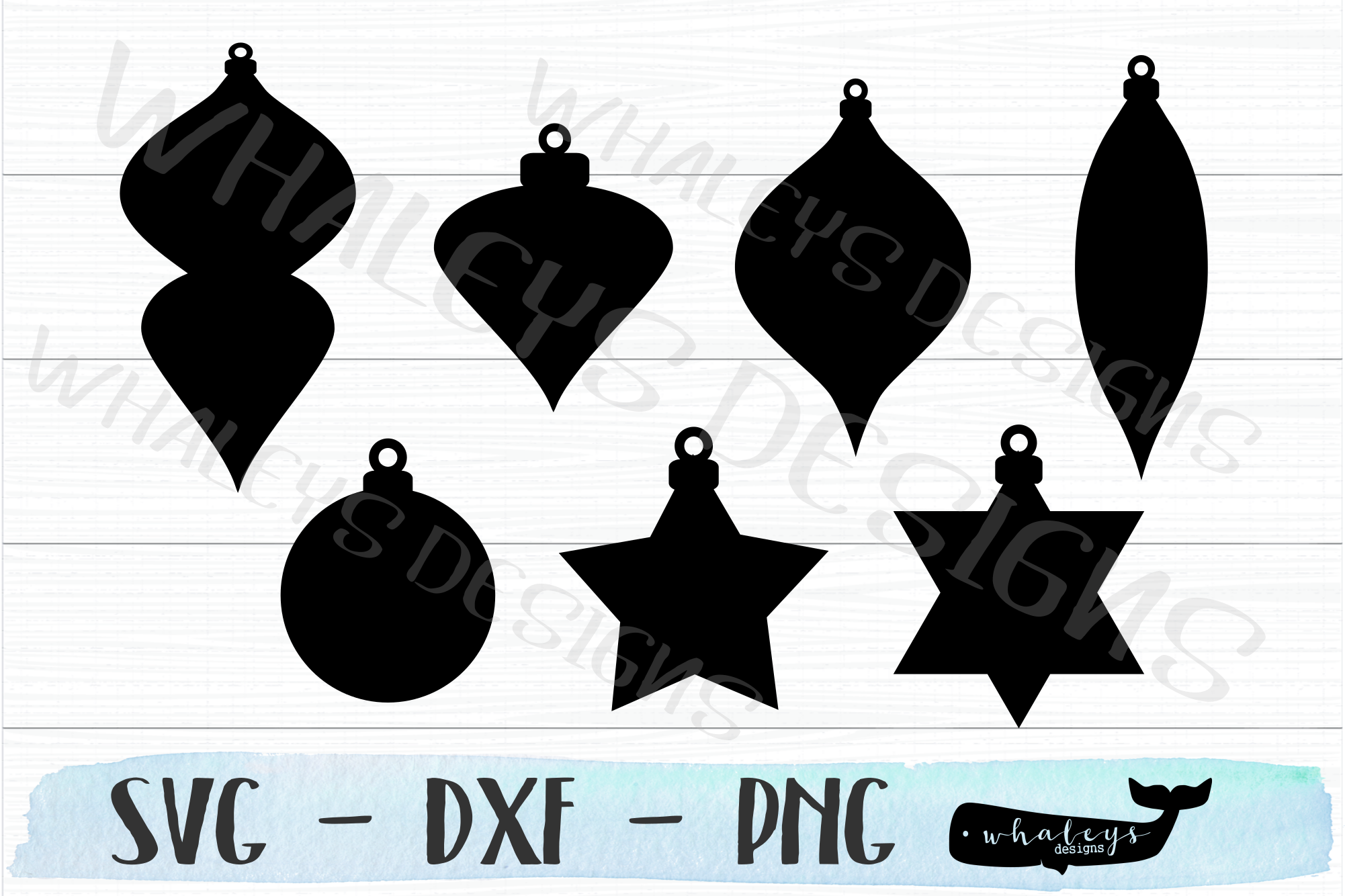 Download Free Christmas Ornament Cut Out And Labels Graphic By Whaleysdesigns for Cricut Explore, Silhouette and other cutting machines.