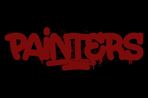 Print on Demand: Painters Blackletter Font By qkila - Image 1