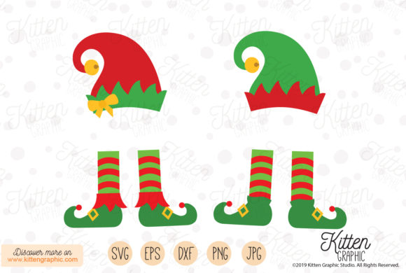 Boy and Girl Elf Graphic Crafts By kittengraphicstudio