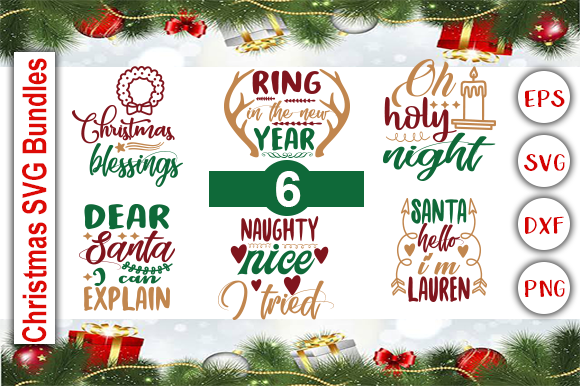Download Free Christmas Svg Bundle Grafico Por Graphics Cafe Creative Fabrica for Cricut Explore, Silhouette and other cutting machines.