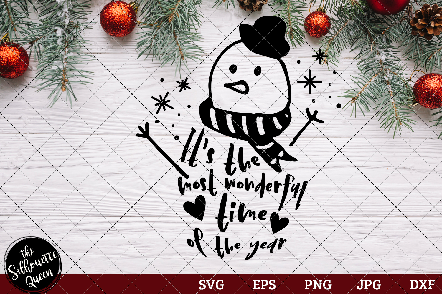 Download Free It S The Most Wonderful Time Of The Year Graphic By for Cricut Explore, Silhouette and other cutting machines.
