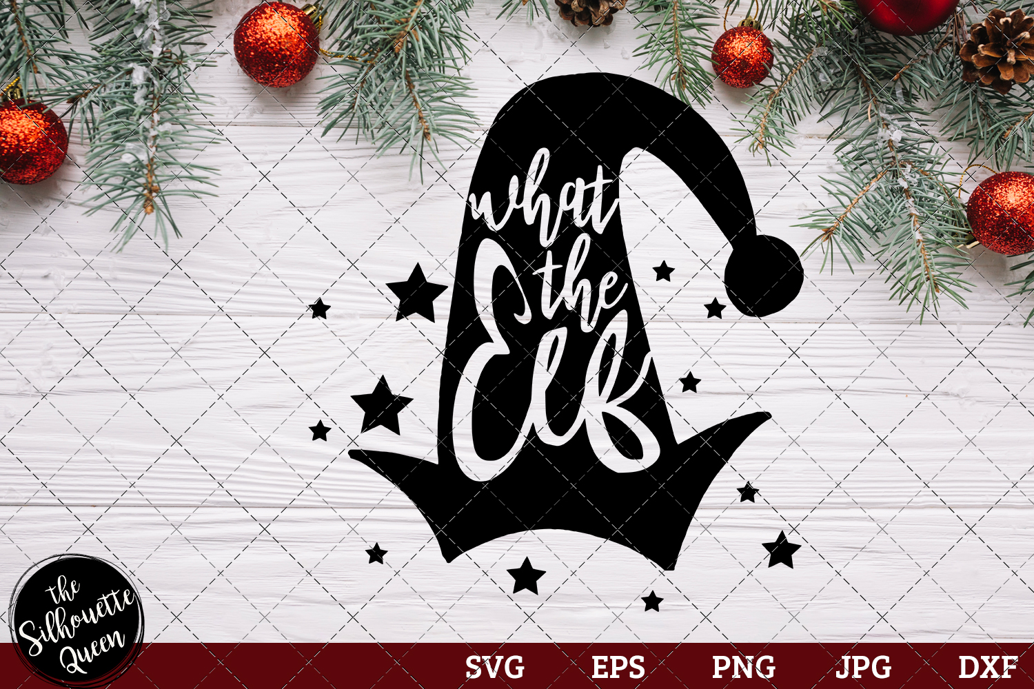 Download Free What The Elf Graphic By Thesilhouettequeenshop Creative Fabrica for Cricut Explore, Silhouette and other cutting machines.