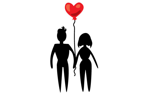 Download Free Male And Female Holding Hands Svg Cut File By Creative Fabrica for Cricut Explore, Silhouette and other cutting machines.