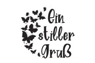 Ein Stiller Gruß Germany Craft Cut File By Creative Fabrica Crafts