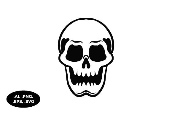 Download Free Skull Illustration Graphic By Sasongkoanis Creative Fabrica for Cricut Explore, Silhouette and other cutting machines.