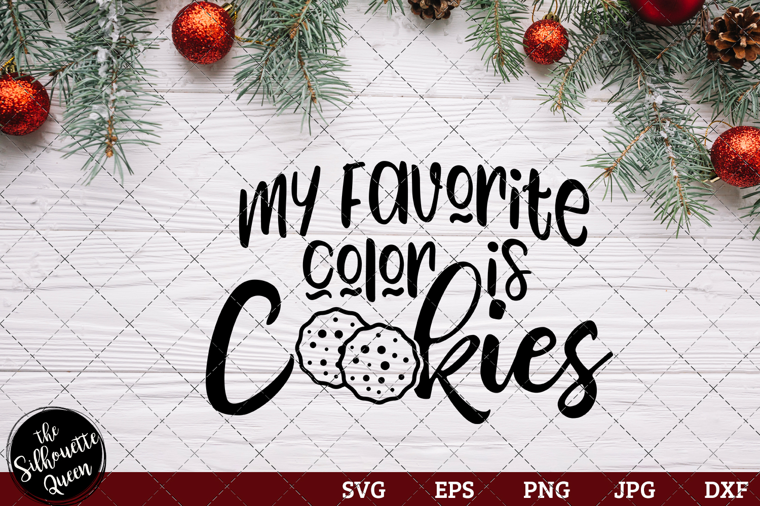 Download Free My Favorite Color Is Cookies Graphic By Thesilhouettequeenshop for Cricut Explore, Silhouette and other cutting machines.